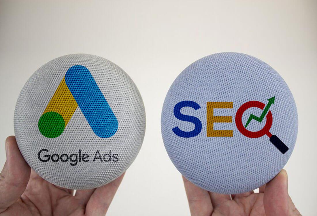 تبلیغات گوگل و سئو چه فرقی دارند؟