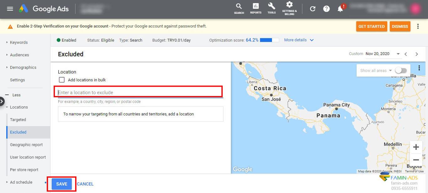 مسدود سازی کلیک های فیک تبلیغات گوگل
