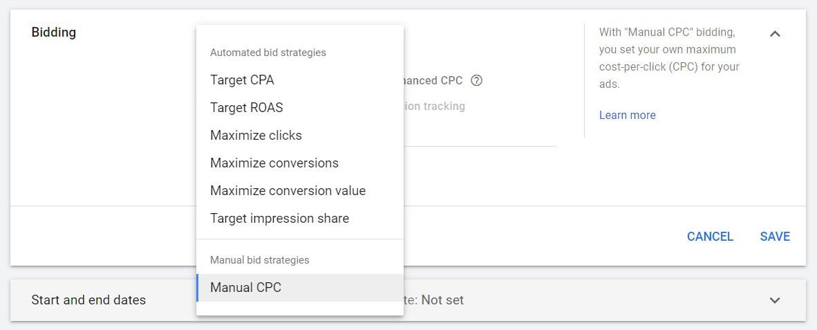 استراتژی های قیمت گذاری در تبلیغات گوگل